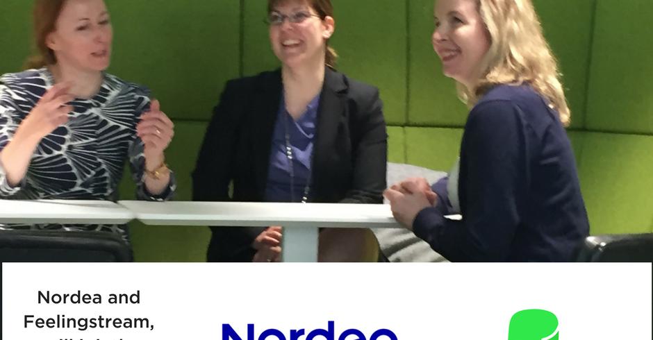 Nordea Feelingstream Customer service AI