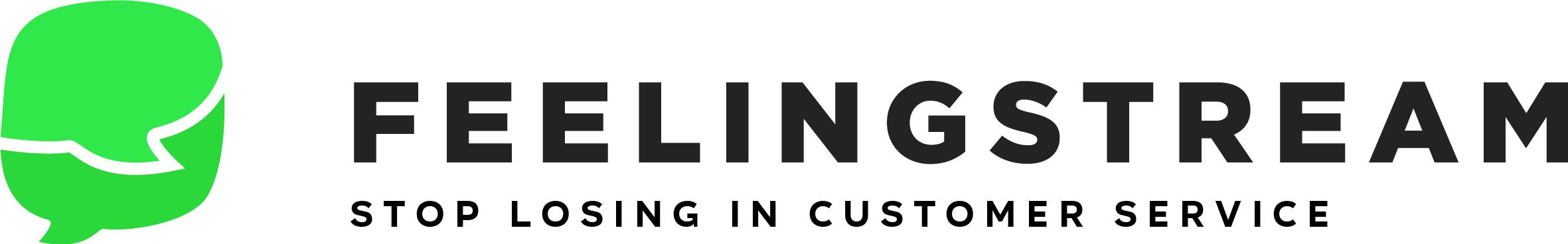 Feelingstream - stop losing in customer service - logo